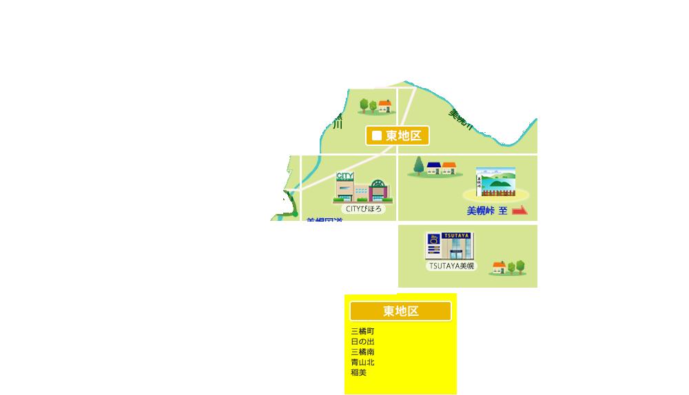 美幌町東地区