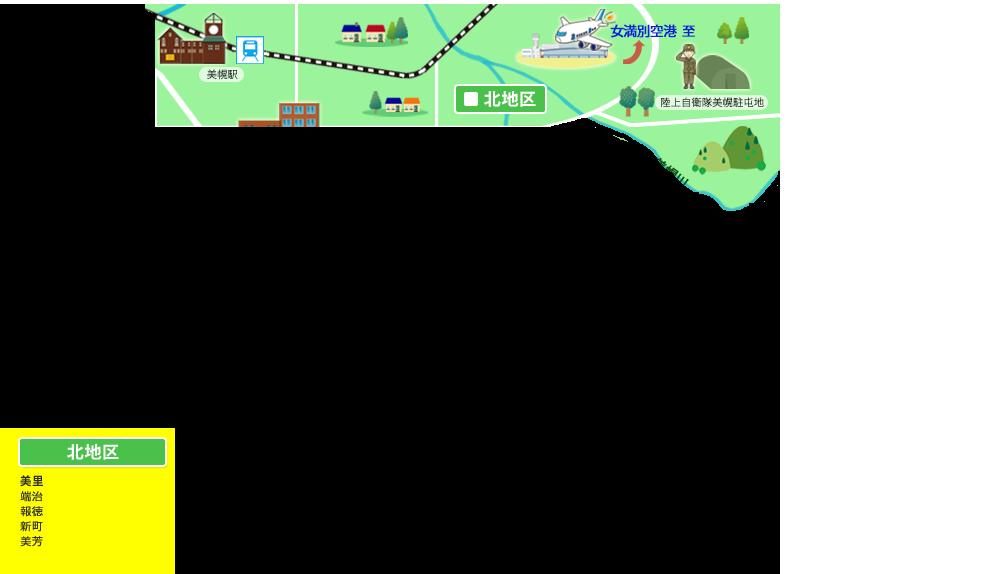 美幌町北地区