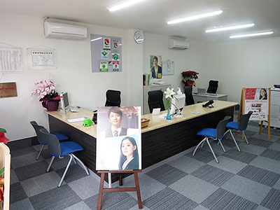 ハウスメイトネットワーク袖ヶ浦店  ㈱三船地所 内観