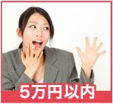 5万円以内