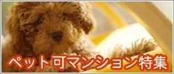 ペット可マンション特集