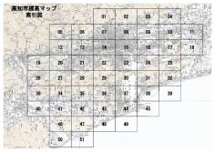 高知市標高マップ