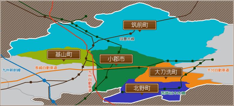 小郡店エリアマップ